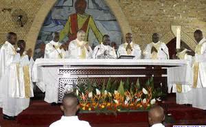 Messe de saint Josémaria à Kinshasa